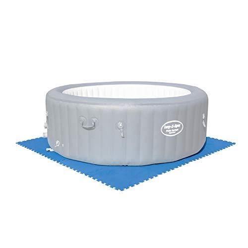 Bestway Flowclear - Juego de baldosas Protectoras para Suelo (8 Unidades de 50 x 50 cm), Color Azul