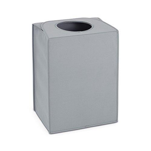 Wäschekorbtaschen rechteckig / Grey