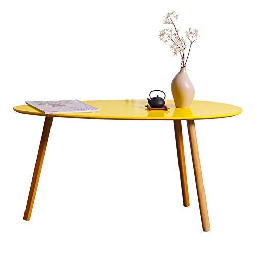 Beistelltisch Sofa Side End Laptop Tisch, Wohnzimmer Naturbambus für Wohnzimmer, Schlafzimmer, Balkon (Size : 90×45.5×45.5cm)