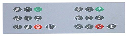 FriFri FFM42 Film de protection pour clavier de friteuse