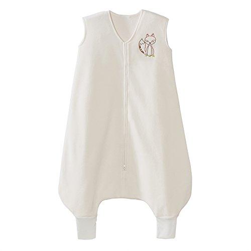 Halo Early Walker SleepSack Wearable Blanket Micro-fleece With Fox, Cream, Medium