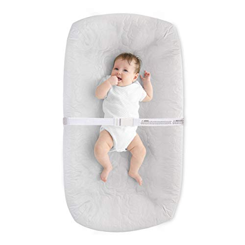 LA Baby 4 Sided Waterproof Diaper Changing Pad,...