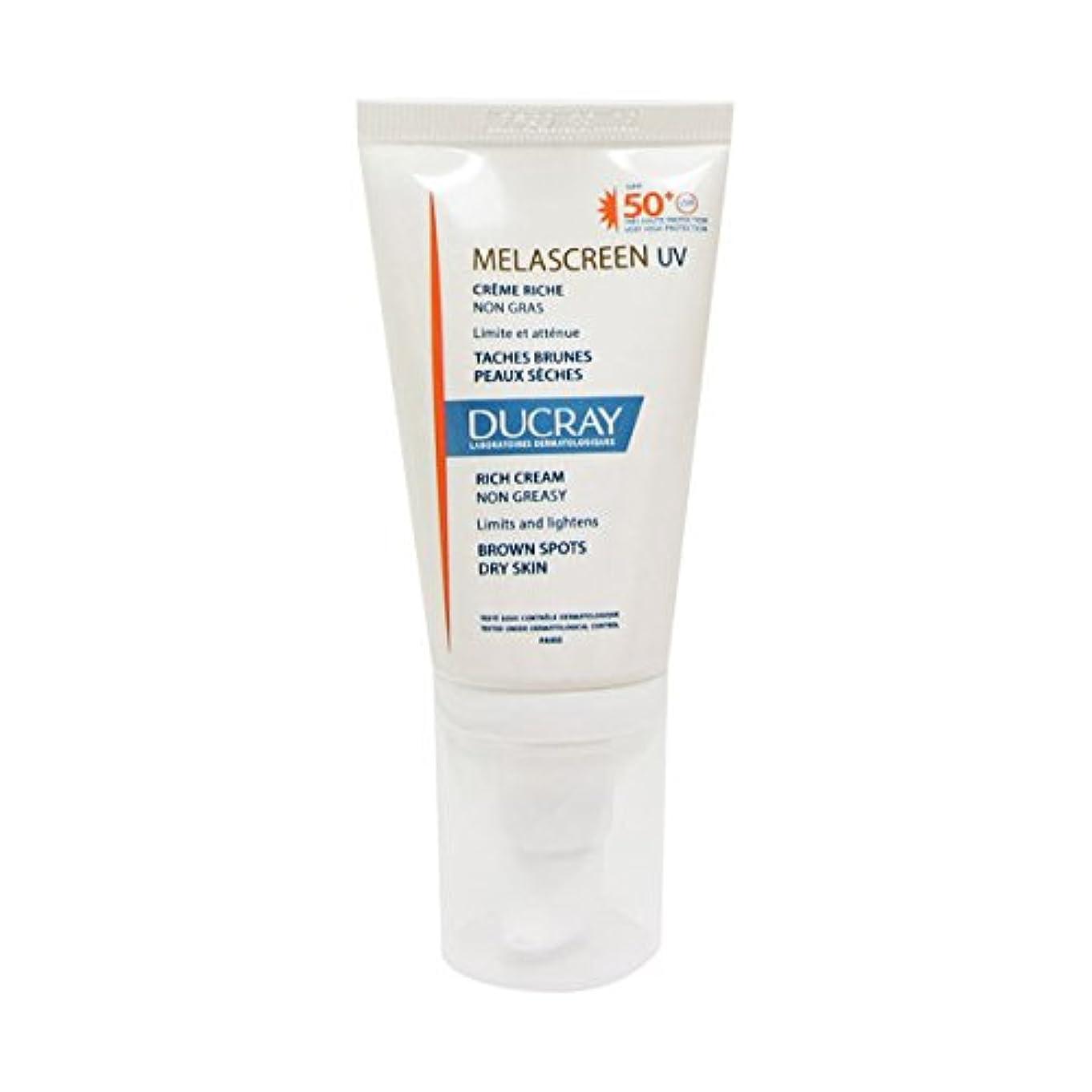 十分扱う無効Ducray Melascreen Rich Cream Spf 50+ 40ml [並行輸入品]