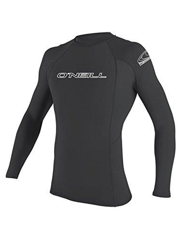 O'Neill Men's Basic Skins Long Sleeve Rashguard S Graphite (3342IS)