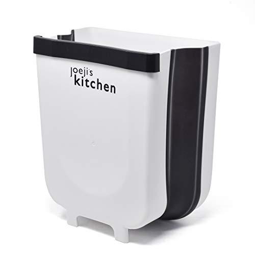 Cestini spazzatura bianchi/neri, pattumiera sottolavello per la cucina, cestino agganciabile, pattumiera a parete per cucina salvaspazio, pattumiera a parete da bagno + sacchetti per rifiuti da 8 lt.