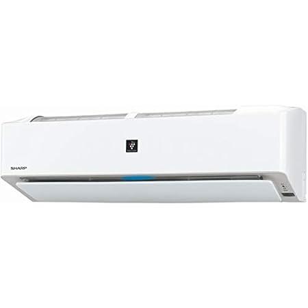 シャープ 【エアコン】高濃度プラズマクラスター25000搭載おもに18畳用 (冷房:15~23畳/暖房:15~18畳) L-Hシリーズ 電源200V (ホワイト系) AY-L56H2-W
