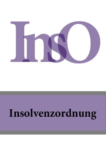 Insolvenzordnung InsO (Deutschland)