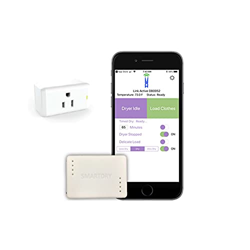 New GEN 2 SmartDry Wireless Laundry Sensor. Receive Smart Notifications for Any Clothes Dryer (Gas or Electric) Hub Automatically Turns Off Your Gas Dryer. Works with Alexa, Google, SmartThings.