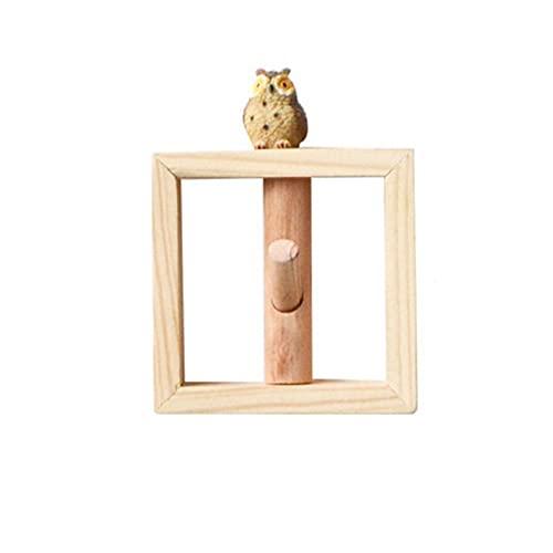 percheros pared Gancho de madera maciza cuadrada Capa de llavero creativo Gancho de almacenamiento Hanger Decoración de pared Colgando adornos Decoración de pared Mochila Gancho percheros pared modern