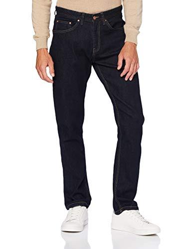 Springfield Herren Jeans Regular-Stretch Rinse-c/10 Hose, Blau (Navy 175715610), 38 (Herstellergröße: 40)