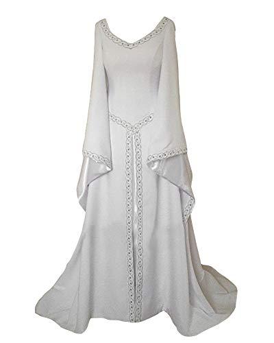 GladiolusA Vestido De Retro Medieval Renacentista Mujeres Vestidos Largos Traje De Cosplay