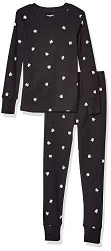 Amazon Essentials Long-Sleeve Tight-Fit 2-Piece Pajama Set