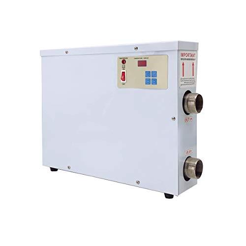 Cozyel Poolheizung Thermostat 220V 11KW Elektrische Heizung Swimmingpool Temperaturregler Warmwasserbereiter Für heiße kalte Badewanne Schwimmbad Spa