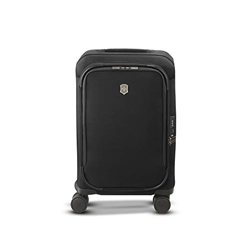 """Victorinox Connex Softside Spinner Luggage, Black, Carry-On, Frequent Flyer (22"""")"""