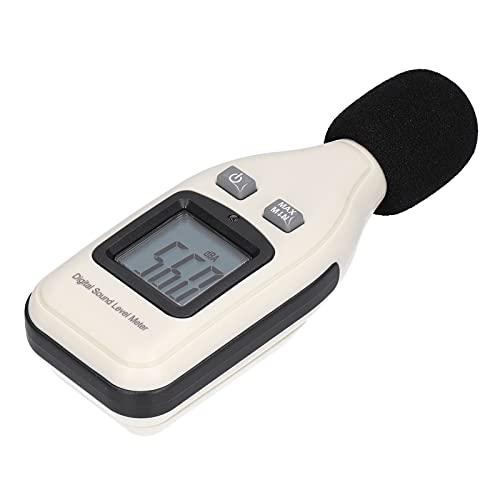 Dispositivo de medición de ruido, dispositivo de medición de ruido GM1351 Medidor de decibelios digital Lector de nivel de presión de sonido Probador de ruidos