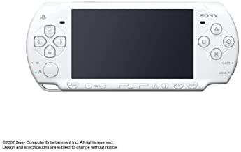 Sony Playstation Portable (PSP) 2000 Series Handheld Gaming Console System (Renewed) (Pearl White)