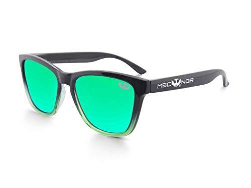 Gafas de sol MOSCA NEGRA ® modelo ALPHA SPLASH Green - Polarized