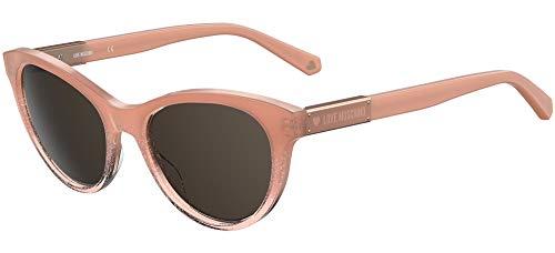 Moschino Love mol026/s, gafas de sol Mujer, Nude, 53