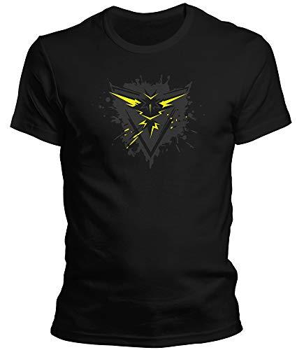 DragonHive T-shirt Pokemon Go Team Trainer - Pour homme - Noir - Small