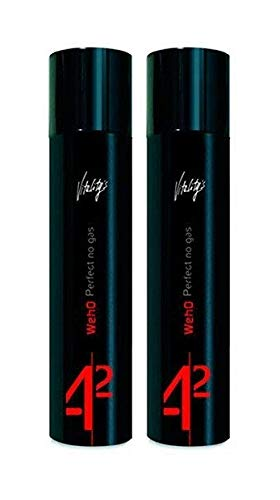 Vitality's WEHO Perfect No Gas 300 ml Haarlack ohne Treibgas 2er Set (600ml)