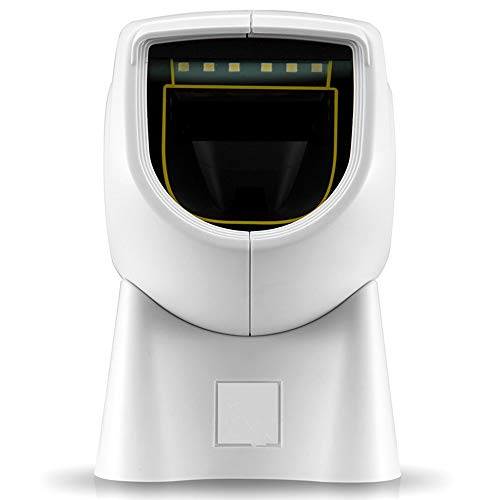 Owenqian Scanners de Codes à Barres Code de numérisation Gun USB Filaire Fast Image Numérisation Convient for centres commerciaux et Les supermarchés avec récepteur USB pour Le Magasin Supermarché