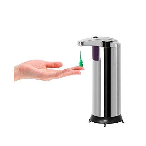 Oven Dispensador de Jabón de Espuma de Acero Inoxidable Sin Contacto, Bomba de Jabón Manos Libres de Pulverización de Inducción Infrarroja