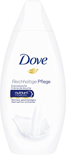 Dove Cremedusche Reichhaltige Pflege Mini Duschgel, 12er Pack (12 x 55 ml)