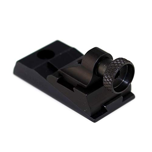 Williams WGRS-336 Guide Receiver Peep Sight Marlin 336 Lever Action Aluminum Black