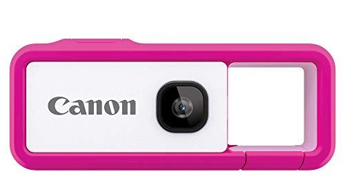 Canon カメラ iNSPiC REC PINK ピンク(小型/防水/耐久)身につけるカメラ FV-100 PINK