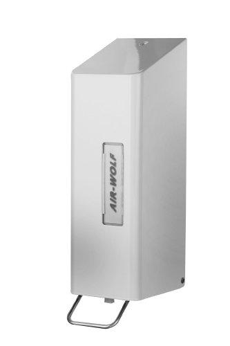 AIR-WOLF Seifen- und Desinfektionsmittelspender 1,2 Liter, weiß, Serie Omega
