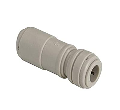 """Advanced Technolgy Products HCVU1/2-1/2 Fluidfit Push-to-Connect Fitting, Check Valve, 1/2"""" x 1/2"""", 1 Each, 0.500"""" ID, POM by Advanced Technolgy Products"""
