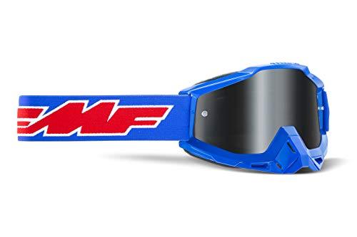 FMF POWERBOMB Sand Goggle Rocket Blue - Smoke Lens