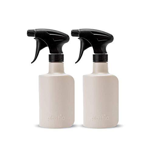 Nanolab® | 20 x 500 ml | Crème | Bouteille en plastique avec pulvérisation | Bouteille vide