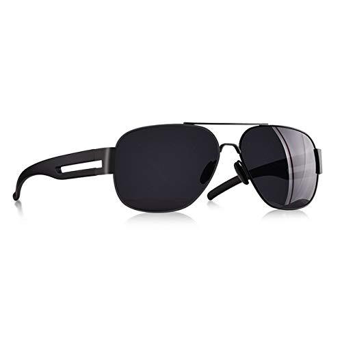 KJGTRMen's sunglassesGafas de sol para hombre Marca Marco de metal TR90 Oversized Polarized Male Sun Glasses para hombres gafas oculos masculino