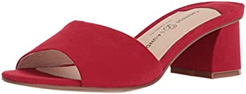 Chinese Laundry Women s My Girl Slide Sandal LOLLIPOP RED SUEDE 8.5 M US