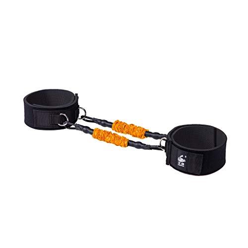 Xingdong Übung Hips Gesäss Artifact Peach Hip Trainings Beine Muskeln dünne Beine Fitness Kraft elastische Seil-Zug-Band dauerhaft (Color : Orange 40 lbs)