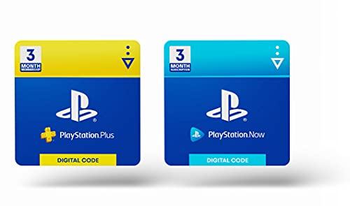 PlayStation Plus 3 Month & PlayStation Now 3 Month Bundle [Amazon 2021] - PlayStation [Digital Code]