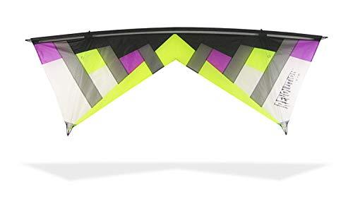 Revolution Kites Lenkdrachen New York Minute Standard, NYM LIM/Purp #1, Lime/Purple