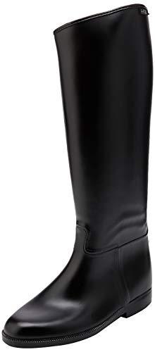 HKM Erwachsene Hose Reitstiefel -Damen- lang und weit mit Reißverschluß9100 schwarz41, 9100 schwarz, 41, HKM 4000315042722