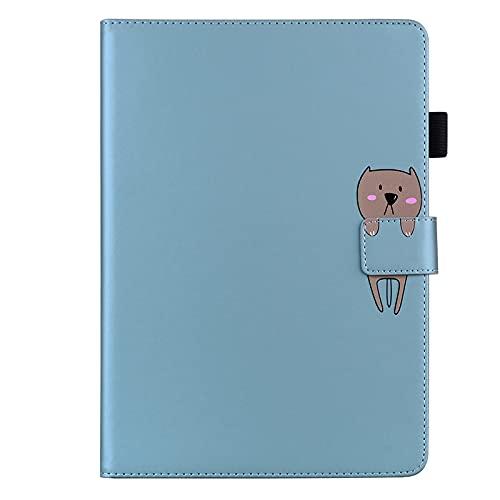 JIan Ying Funda para Samsung Galaxy Tab A 10.1 (2016) SM-T580 T585 Delgado Ligero Protector Cover Perro