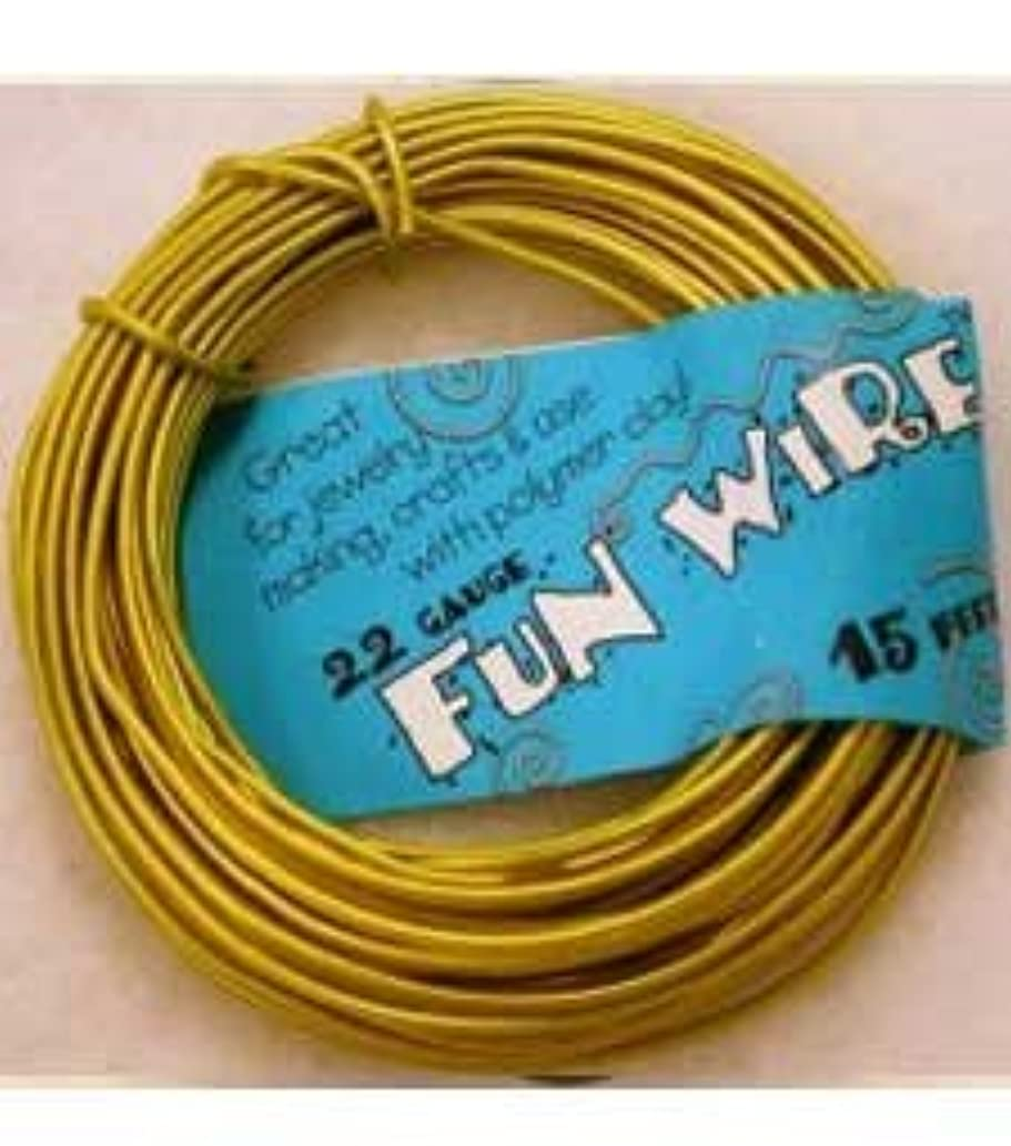 Fun Wire 9ft 22 Gauge Clear Lemon Lime New Name Icy Lemonade
