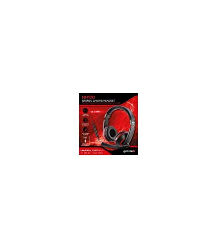 Gioteck - Auricular estereo con cable XH-100 Negro y Rojo multiplataforma (PS4)
