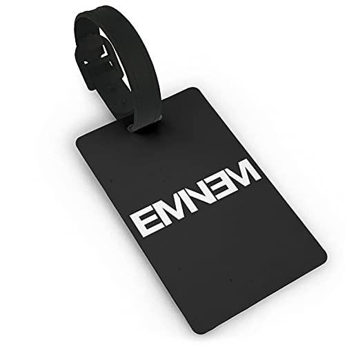 EMI-Nem Etiqueta de equipaje maleta titular de la tarjeta de visita documentos de viaje personalizados etiqueta de equipaje PVC 5,4 cm x 8,5 cm