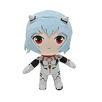 8.7 in Evangelion Rei Ayanami Plush SUPYINI Anime Evangelion Plush Cute Rei Stuffed Doll for EVA Fans and Kids