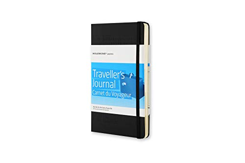 Moleskine Taccuino Viaggio Passion Travel Journal, Nero