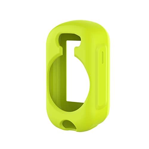 MPWPQ Cáscara Protectora de Silicona for Garmin Edge 130/130 Plus GPS Caja de protección Anti-arañazos a Prueba de Golpes. (Color : Green)