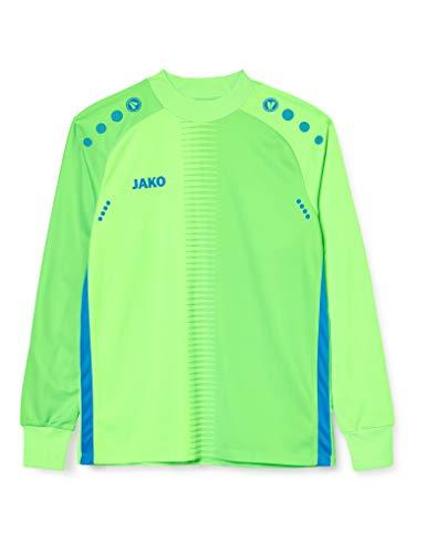 JAKO Maillot de Ciclismo para Hombre Competition 2.0, Color Verde neón Azul,...