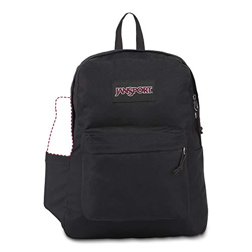 JanSport SuperBreak Backpack - Lightweight School Pack, Black