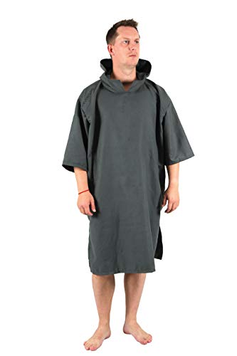 Lifeventure 62120 Changing Robe - Compact (Grey) Unisex-Adult