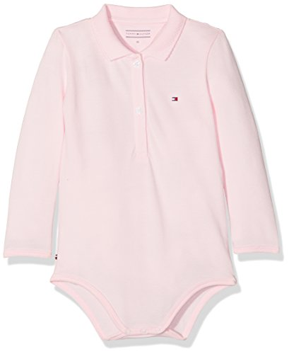Tommy Hilfiger baby-meisjes body BABY POLO BODY L/S
